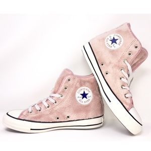 Converse Chuck Taylor Rose Fur Pink All Star